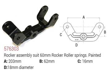 (185397) Cast Tandem Rocker with 18mm centre hole