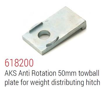 (181906) AKS Coupling Adaptor plate to suit Classic Hayman Reese Hitch