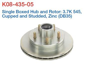 (182334) Dexter UFP US Disc Hub (Nol Bearings) Ford stud pattern